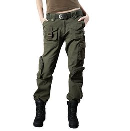 Discount Green Cargo Pants For Women | 2017 Army Green Cargo Pants ...