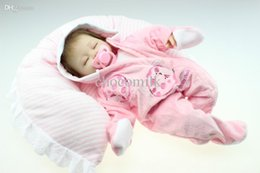 Wholesale simulation inches lifelike reborn soft silicone vinyl real touch doll newborn baby