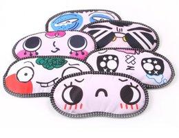 Wholesale free ship new Sleep Soft Mask ice pack For Sleeping Anywhere Travel Long Flights or Short Naps Blocks Light Fully Comfort