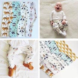 Wholesale kids Leggings boys girls clothes baby clothing trousers harem Tights Pants leggings toddler capris Panda brand Striped pants