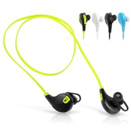 QY7 Mini USB Беспроводная связь Bluetooth 4.0 наушники наушники стерео наушники гарнитуры микрофон для iPhone Sumsung свободной перевозкой груза