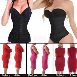 Wholesale New Arrivals Women Lady Waist Trainer Underbust Tummy Shaper Body Girdle Cincher Nylon Spandex EB62