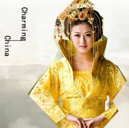 Wholesale Charming China Zone Collar Costume Chinese clothing Chinese Costume Six Colors