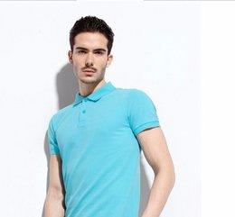 Wholesale new Summer men Pique Cotton polo shirt men women solid polo shirt polo homme