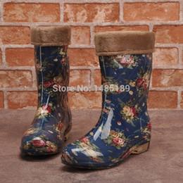 Discount Rubber Rain Boot Women Tube   2017 Rubber Rain Boot Women ...
