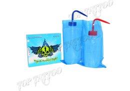 Wholesale Handmade Blue Rose Skull Tattoo Wash Bottle Bags For Tattoo Supply Kits