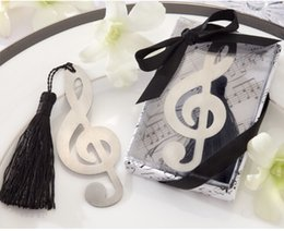 Wholesale stainless steel Bookmarks wedding gift note Bookmark Wedding Favors shipping free