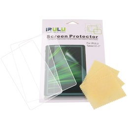US Stock 3 pcs New Effacer écran Film Protecteur pour iRulu Tablet PC Pour 7