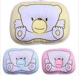 Wholesale Hot baby pillow infant shape ToddHot baby pillow infant shapeHot baby pillow infant shape Toddler pillow Infant bedding print bear oval shap