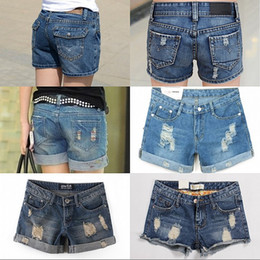 Discount Ripped Jean Shorts For Women | 2017 Ripped Jean Shorts ...