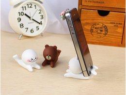 Wholesale Silicone dimensional cartoon doll cell phone holder phone holder lazy phone holder