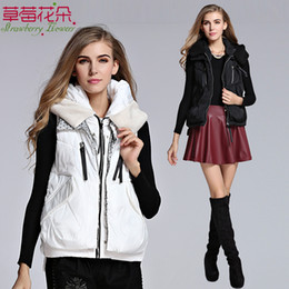 Wholesale Cotton Hooded Vest Women Lady Sleeveless Cotton Padded The Winter New Style Fashion Leisure time Warm Chinese Factory Direct CM4320