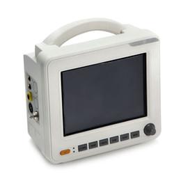 CE Доказанные 8-дюймовый ICU ЦБУ 6-Параметр Монитор пациента неинвазивного SPO2 ЭКГ ТЕМП RESP PR