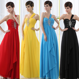 Wholesale In Stock Fashion Crystal Sequin Bead Prom Dresses Sexy Backless Lace up Floor Length Cheap Bridesmaid Dress For Wedding