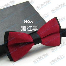Wholesale High Quality Colorful Unisex Silk Bow Tie Adjustable Wedding Party Neckwear Printing Bowties