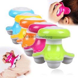 Wholesale V1NF Mini Wave Vibrating Massager USB Battery Power Electric Full Body Massager