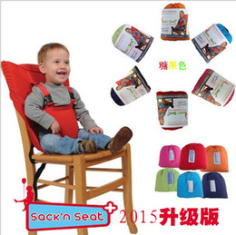 Wholesale Hot German Baby Sack Seat Infant Safety Seat Belt Dining Chair Seat Belt Highchair Cover Cushion Sack Sacking Harness Belt Strap Bag