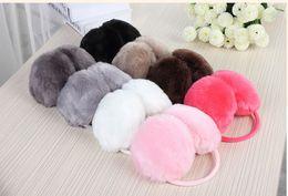 Wholesale Hot selling Lovely plush earmuff Unisex Soft Fur Fluffy Plush Ear Warmer Muff Christmas gift
