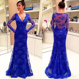 Discount Beautiful Blue Mermaid Prom Dresses | 2017 Beautiful Blue ...