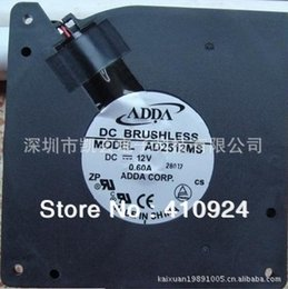 online shopping Used DC12V A Server Cooling Fan For ADDA AD2512MS Server Blower Fan x120x32mm wire