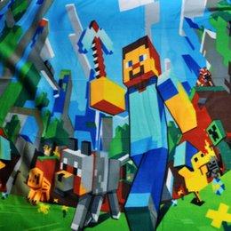 Wholesale frozen Children s Blankets D Cartoon Frozen Blanket Fashion Printed Soft Blanket Cool refreshing comfortable Blanket Minecraft Blanket