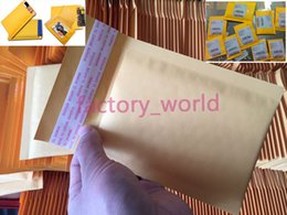 Small Kraft Bubble Mailer Enveloppes rembourrées Sacs Mailers Self Sealing Package d'expédition Pack 100pcs