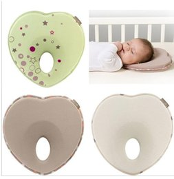 Wholesale Hot baby pillow infant shape toddler sleep positioner anti roll cushion flat head pillow protection of children almohadas bebe