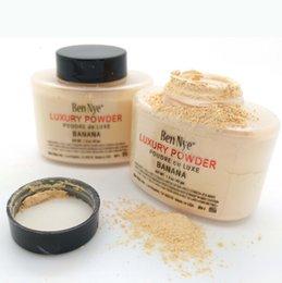 Wholesale 2016 Ben Nye Luxury Powder g New Natural Face Loose Powder Waterproof Nutritious Banana Brighten Long lasting