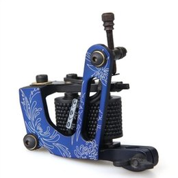 Wholesale WSFS Hot Sale Blue Rotary Tattoo Machine Gun for Shader Liner Wrap Coils