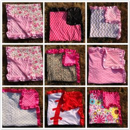 Wholesale 2015 NEW Super soft comfortable minky dot MINKY BLANKET receiving cotton baby blankets hot