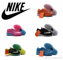 Wholesale Nike air max leather Running Shoes Children s Athletic Shoes Boys Girls Cute Kids airmax running shoes Original Babys Sport S
