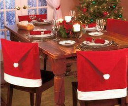 Wholesale Christmas supplies chair cover non woven coverings factory direct sales Wedding Supplies Christmas Gifts Chair Covers