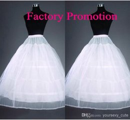 Wholesale Actual Image A Line Petticoats Hoops And Layers Tulle White Bridal Accessories For Wedding
