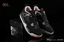 2 Colors With Box Air Retro IV Men s Basketball Sport Footwear Sneakers Shoes Size Colours white black online