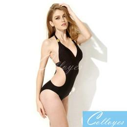 Wholesale 2015 new black piece swimsuit sexy bikini