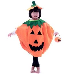 Wholesale Children s Halloween Costume Masquerade Pumpkin Clothes DH04