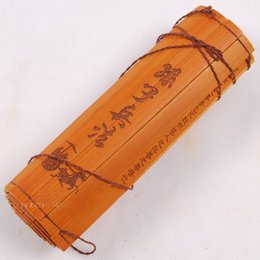 Wholesale Rare Ancient Antiquity Chinese Bamboo Book quot The Art of War quot