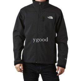 Wholesale 2014 New Men s Fleece Apex Bionic Fleece SoftShell Windstopper Jacket Outdoor Men Windproof Waterproof Climbing Sportswear Out