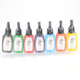 Wholesale 7 Color oz Tattoo Inks Pigment Complete Set Ship From USA