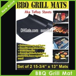 EUA Armazém churrasco churrasqueira mat-alta qualidade item venda quente (2 esteiras por pacote), Apenas Frete Grátis para EUA