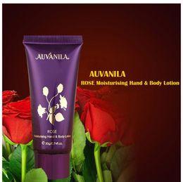 Wholesale AUVANILA Hot Sale Skin Care Rose oil Moisturising and Nourishing Hand Body Lotion g