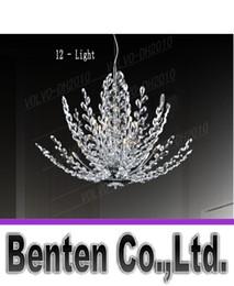 llfa828 Impresionante! Espectacular Modern araña de cristal, Cristal Forma árbol, garantizado 100% + Free!