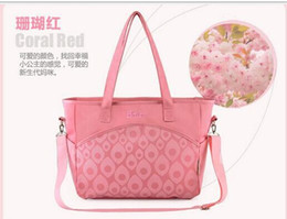 Wholesale Hot New Fashion Lady Large Capacity Mummy Bags Waterproof Durable Microfiber Diaper Bags Multifunction Tote Bags Cross Body Bags