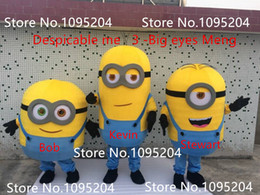 Wholesale high quality Despicable me minion mascot costume for adults Minion mascot costume