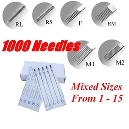 Wholesale 1000pcs U Pick Size Tattoo Sterile Needle Supply TNE Sold In Of