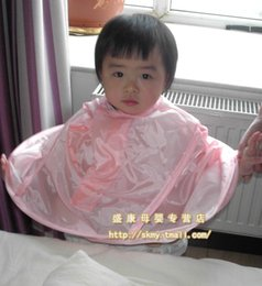 Wholesale high quality baby barber clothing child baby hair cut cloth aprons