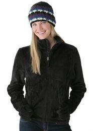 Wholesale 2014 New Women Fleece Osito Jackets Fashion Pink Ribbon Jacket Winter Ladies Outerwear Coat S XXL