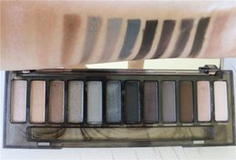 Wholesale 2015 Top Makeup Eye Shadow color eyeshadow palette NUDE Smoky Palette younique mascaara freeshipping by dhl From janet