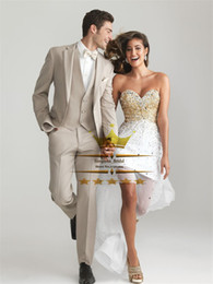 Mens Wedding Summer Suits Dress Yy