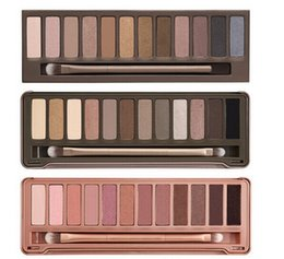 Wholesale 2015 Hot new Makeup set Colors palette eyeshadow palettes with brush free dhl shipping